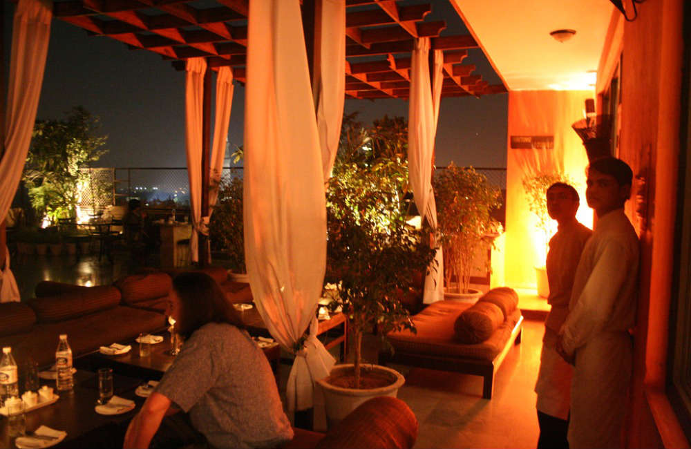 Roof Top Restaurants in Hauz Khas Village