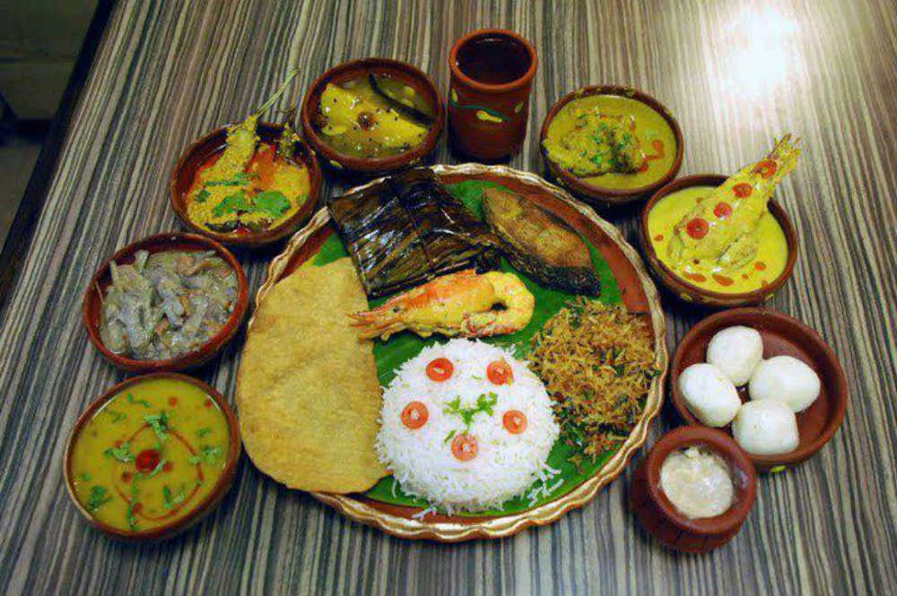 Traditional authentic bengali food new delhi top for Authentic bengali cuisine