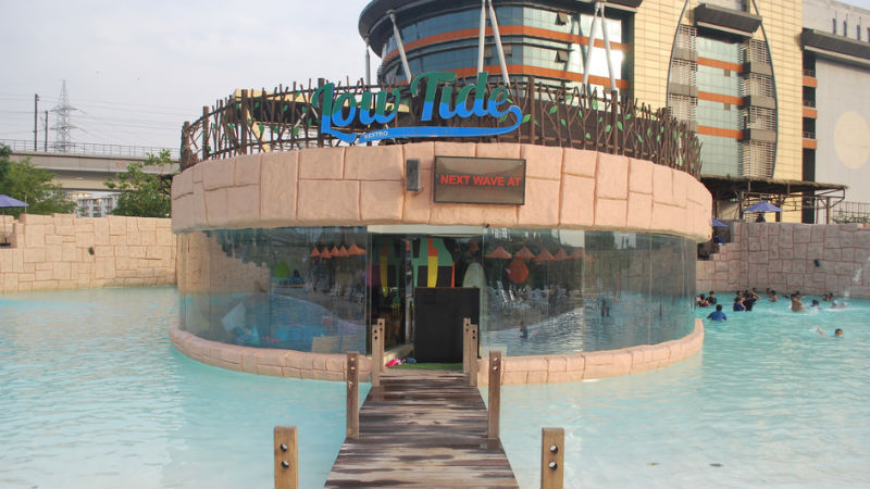 Thrilling Water Rides Scrumptious Food At Oysters Beach Gurgaon