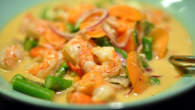 prawns-curry